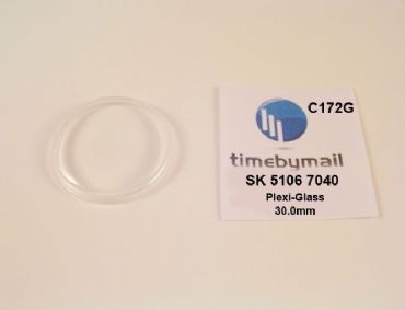 Watch Crystal For SEIKO 5106 7040 Presmatic Plexi-Glass New Spare Part C172G